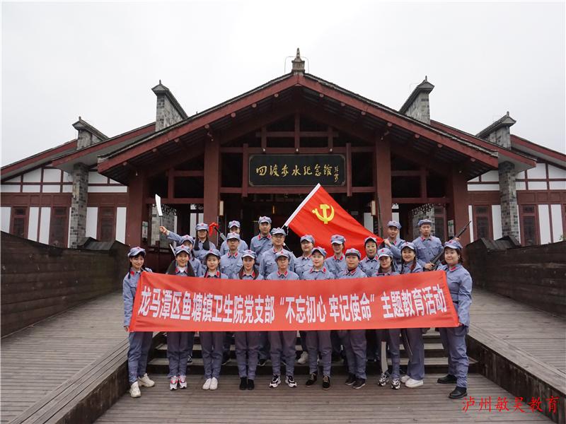 title='泸州市龙马潭区鱼塘镇卫生院《不忘初心 牢记使命》主题教育'